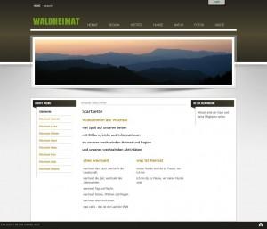WALDHEIMAT - Startseite